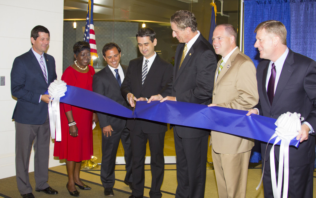 Ribbon cutting ceremony celebrates new office and new jobs