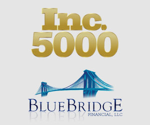 BLUE BRIDGE FINANCIAL RANKS 1259 ON THE INC. 5000