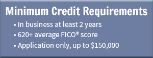 Minimum credit requirements